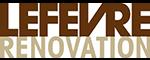 logo lefevre renovation
