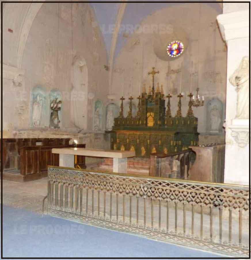 travaux eglise saint-marcel
