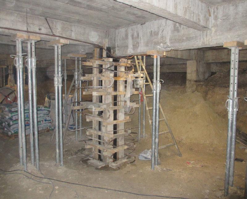 renforts structurels beton arme