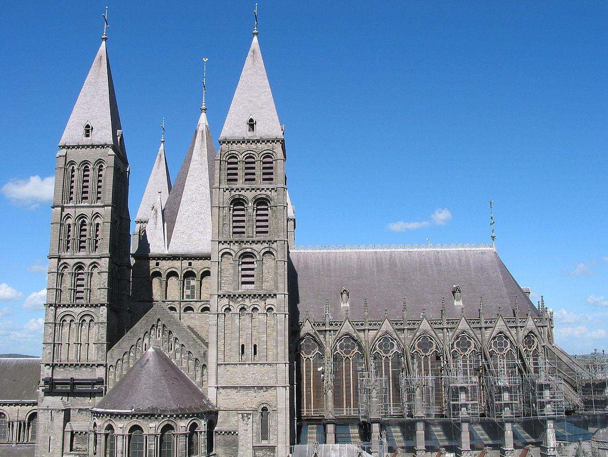 Cathédrale de Tournai, Belgique