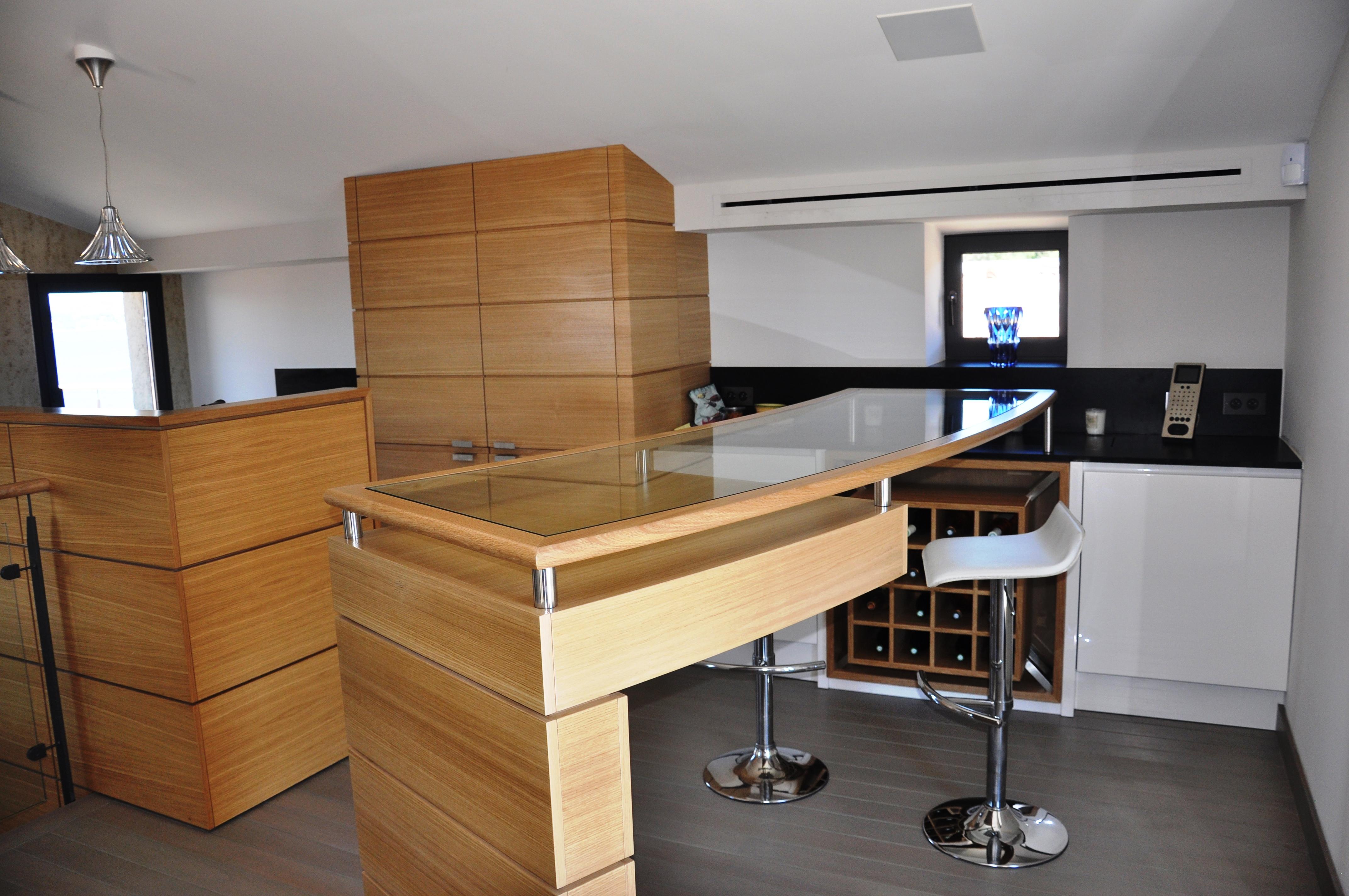 Restauration résidence privée menuiserie