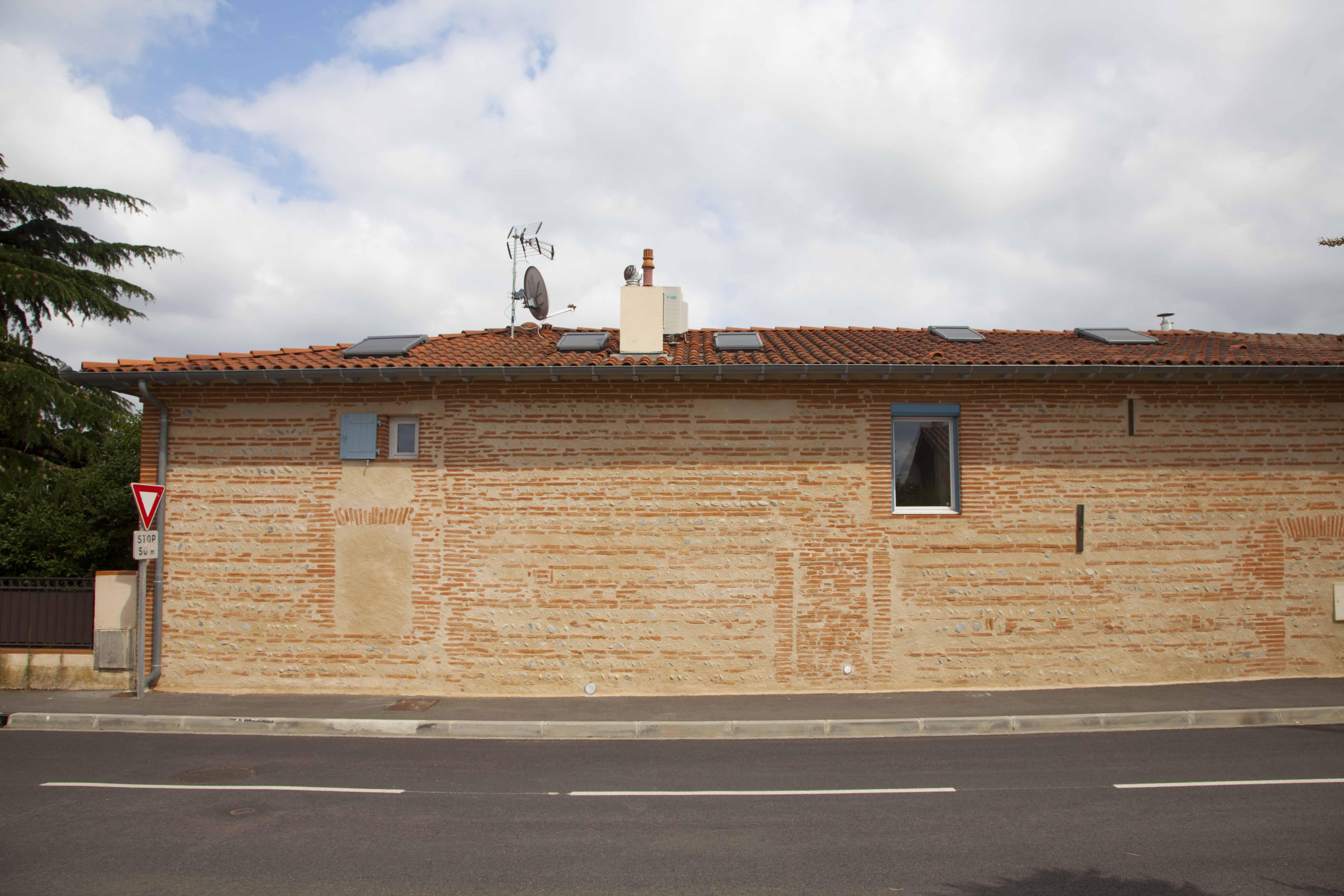 Ravalement façades Maison privée chemin de Grenade - Blagnac