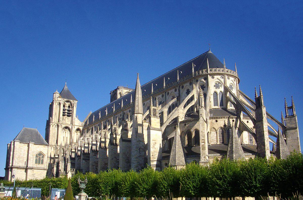 bourges cathedrale saint etienne coefficient