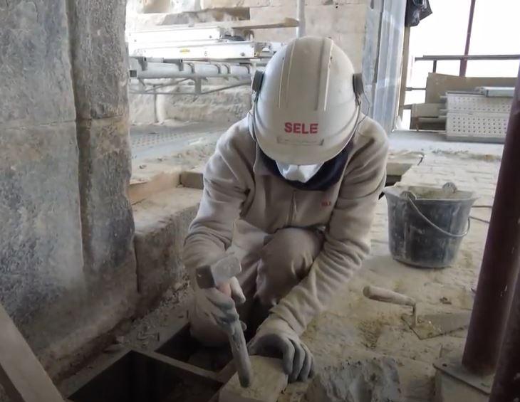 sele restauration arènes de Nîmes