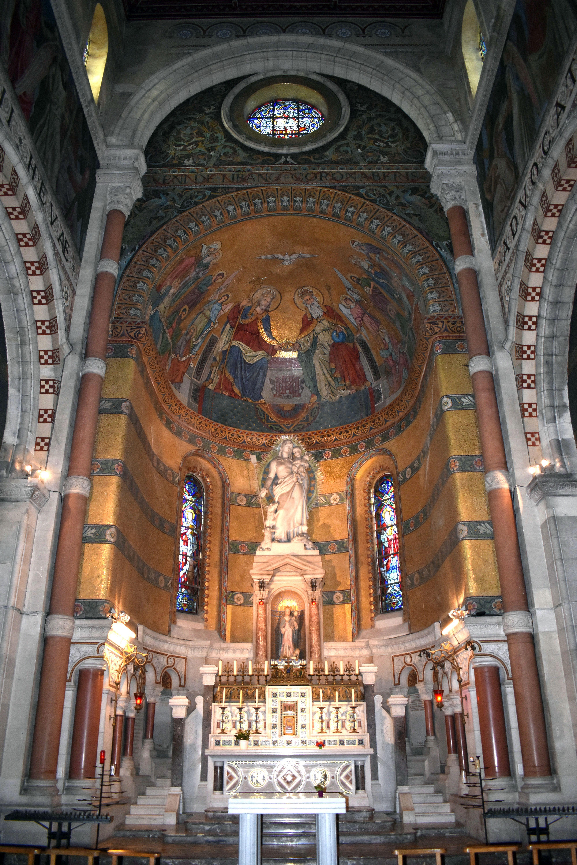 Décors du chœur - Peinture et mosaïque
