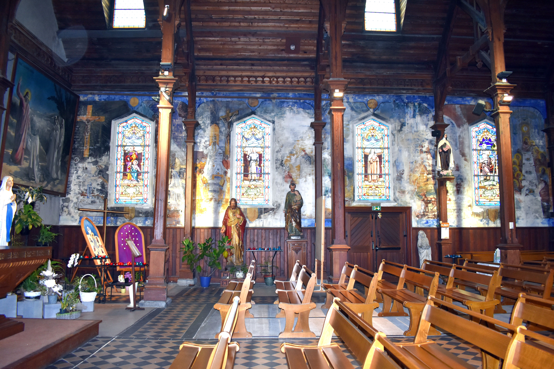 Décors de l'église de Berck