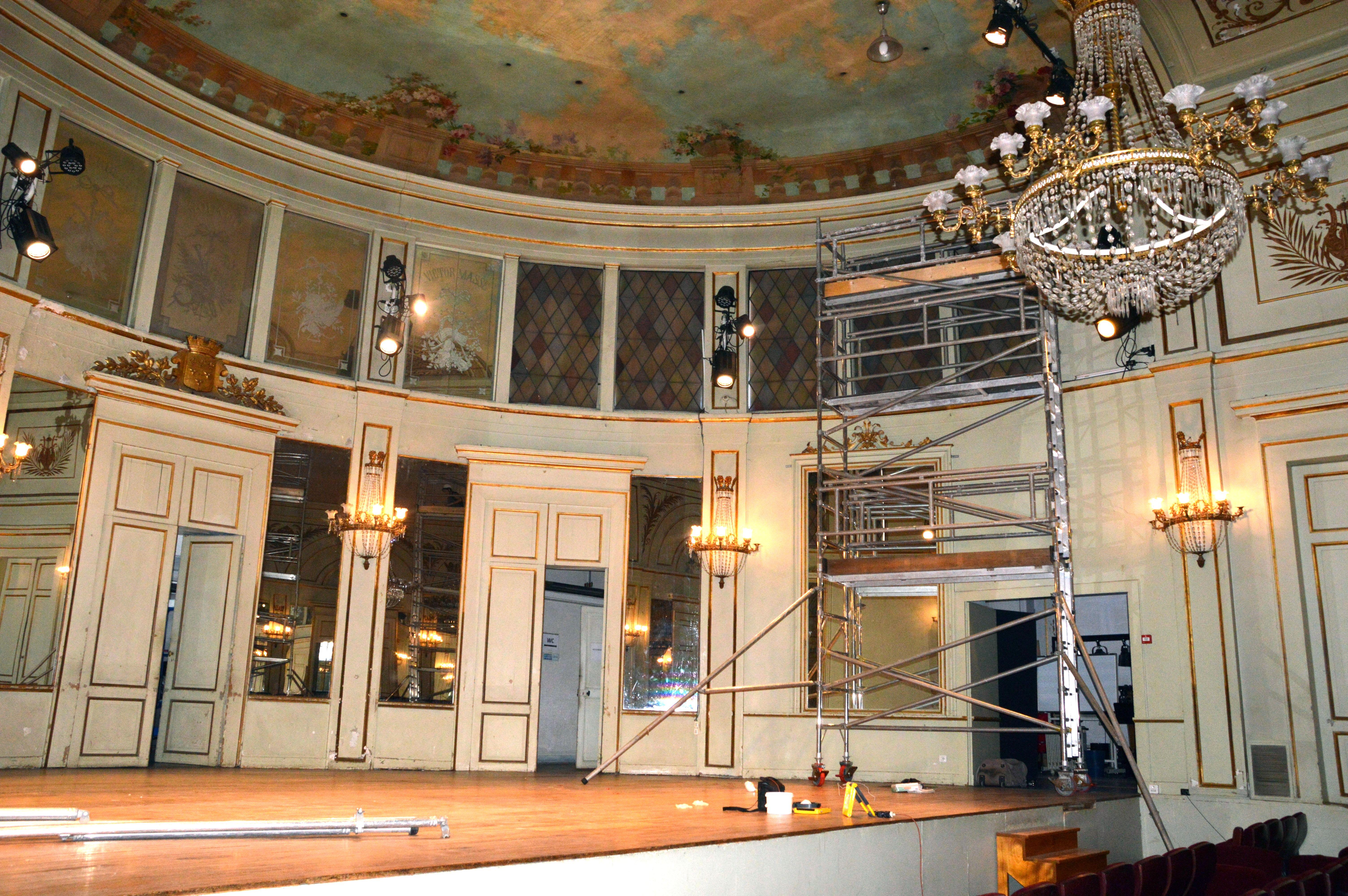 Scène du Conservatoire
