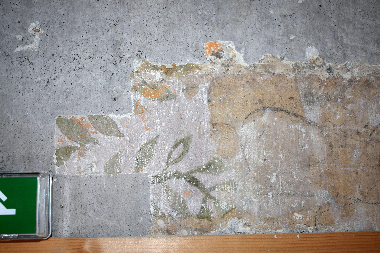 Fiche de relevé des décors peints et graffitis