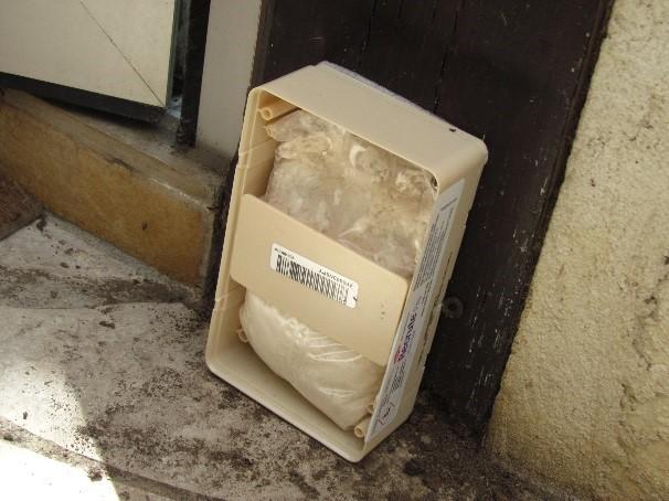 piege termites sentribox en place