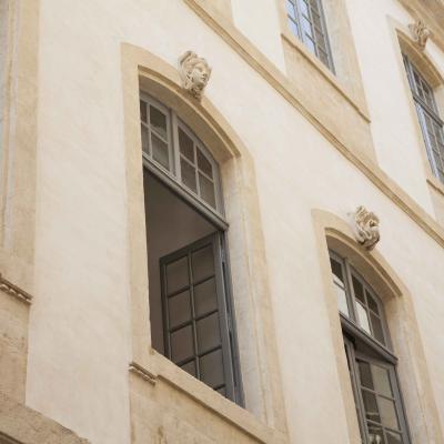 Sele Façades de l'Hôtel de Ville - Nîmes