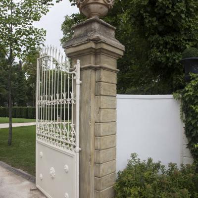 création Portail d'entrée - Eugénie-les-Bains