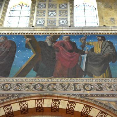 etude-prealable-restauration-decor-peintAlbert – Basilique Notre-Dame de Brebières