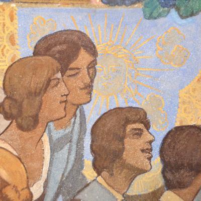 Reims – Fresques de l'hôtel de Ville