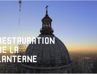 Restauration de la lanterne du Panthéon