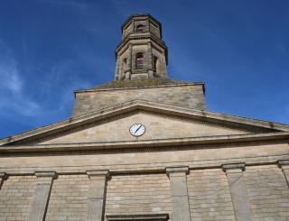 Restauration de la chaire de l'église Saint-Martin à Pauillac